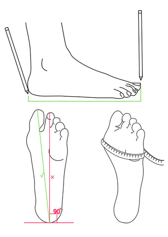HOW TO MEASURE YOUR FEET FOR SHOE SIZE