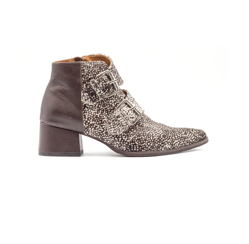 Falcon - Double Buckle Booties