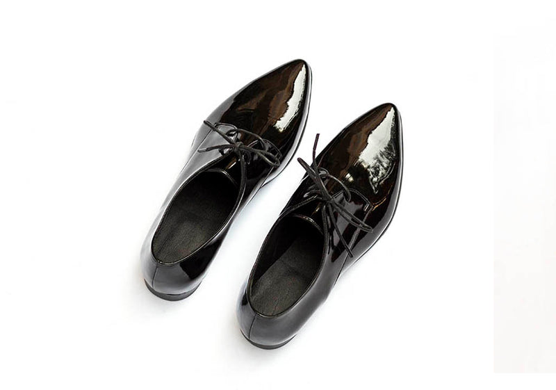 Polished - Vegan Lace Up Shoes