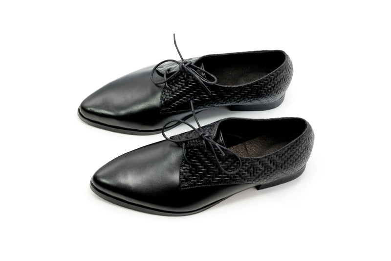 Woven Oxford Shoes
