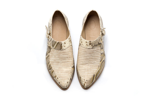 Whiskey - Snakeskin Shoes