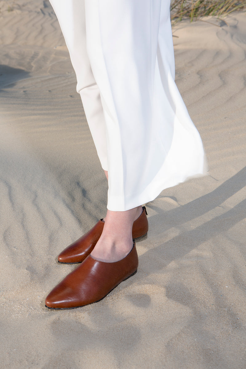 Sparrow - Brown classic flats