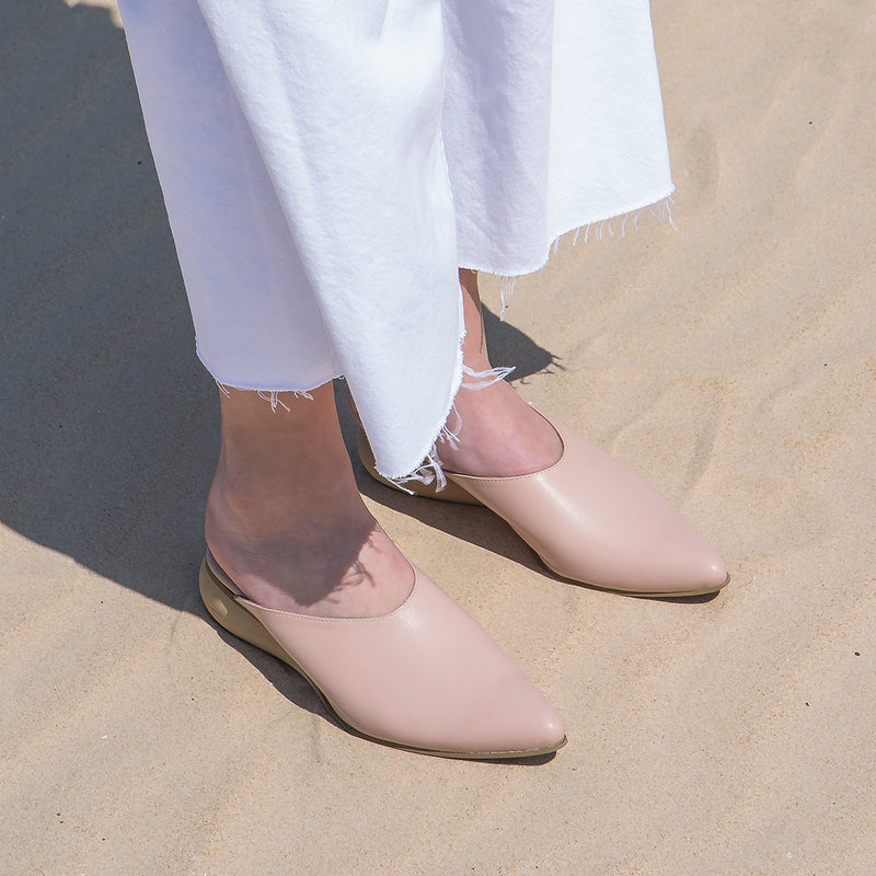 Bee Pink Mules