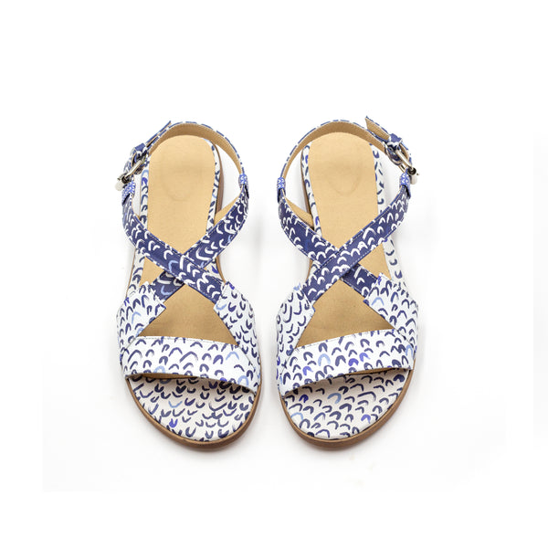 Sea Sandals- Criss Cross