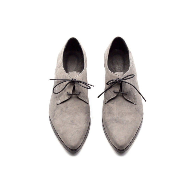 Gray Oxford Shoes