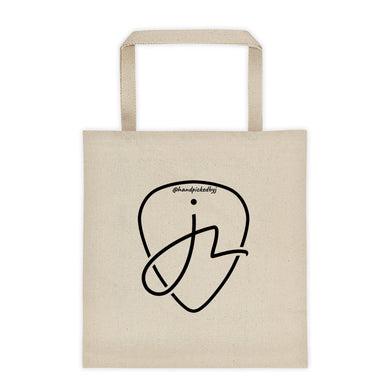 Handpicked by J Logo Tote