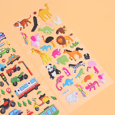 Kids 3D Stickers (20 Sheets)