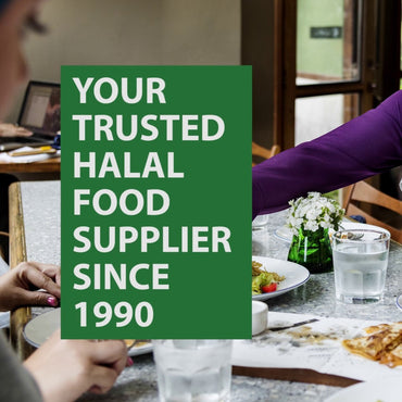 We are your trusted halal food supplier, since 1990