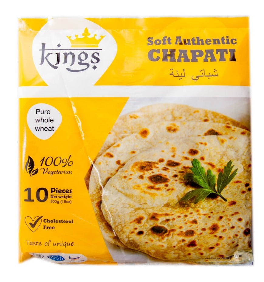 King's Instant Chapati - 10 Pieces