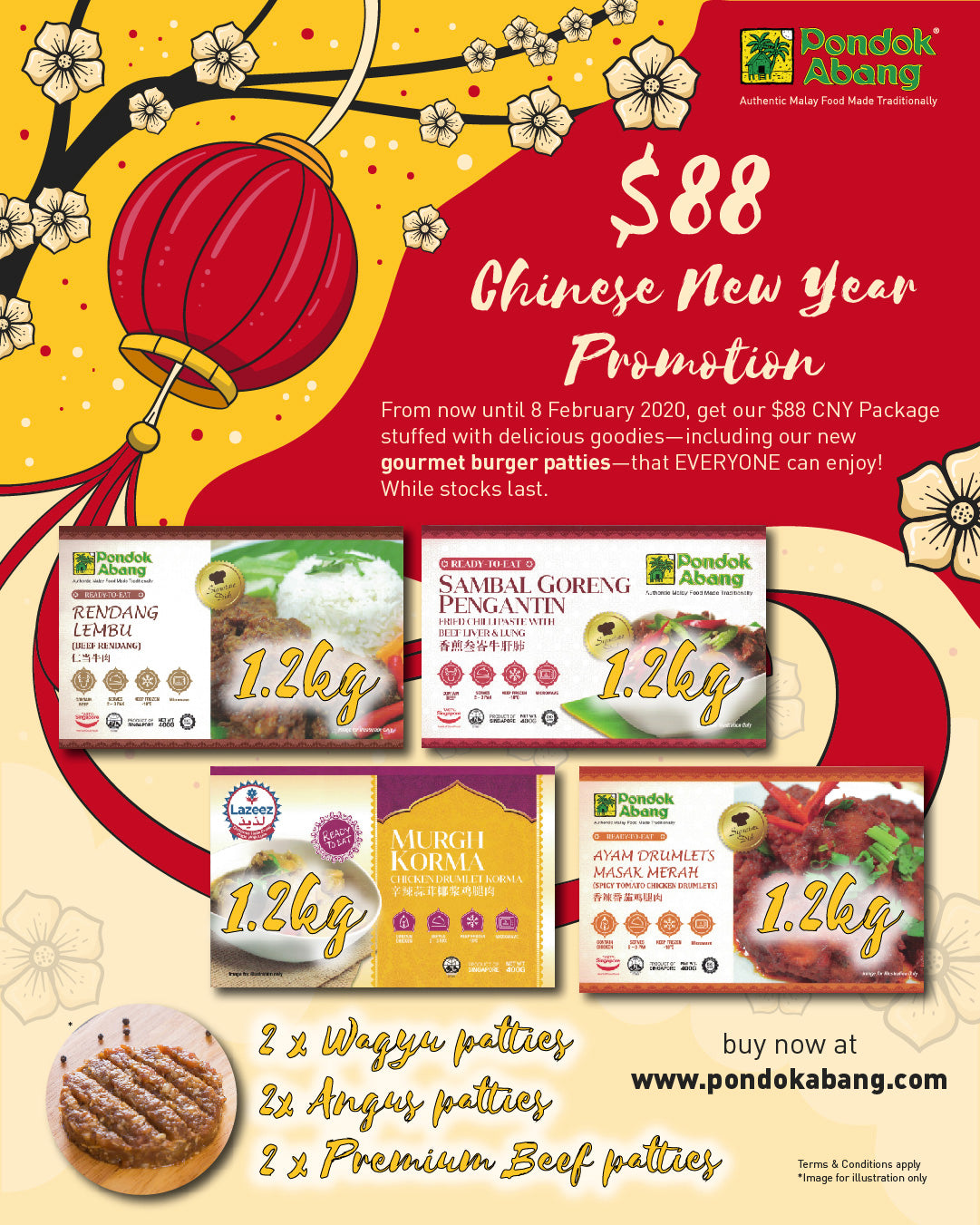 $88 Chinese New Year Promotion