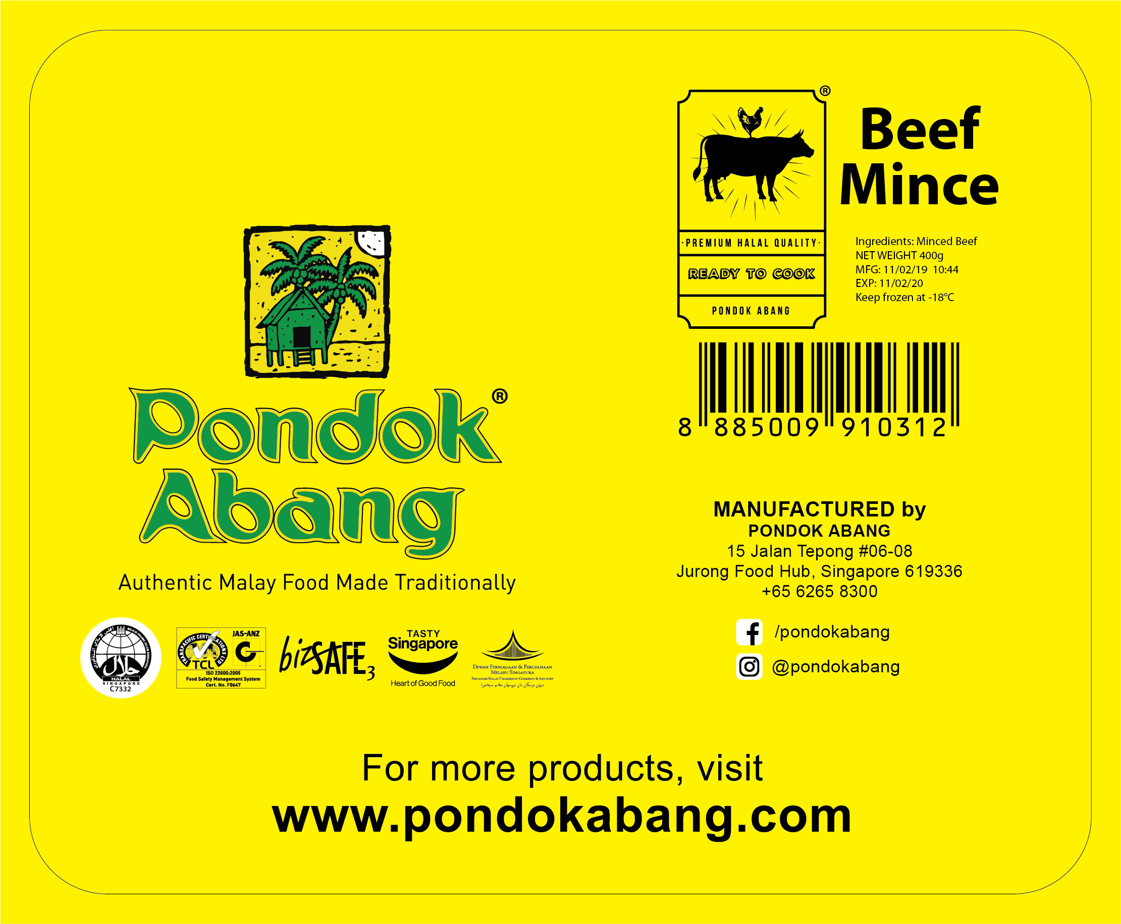 Beef Mince (400g)