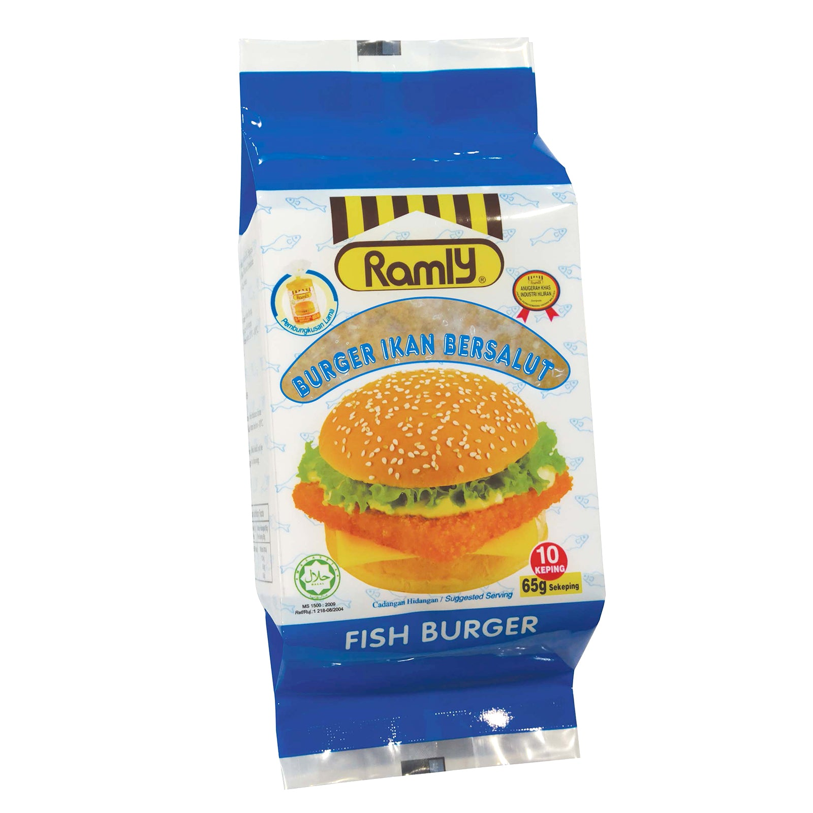 Ramly Fish Burger