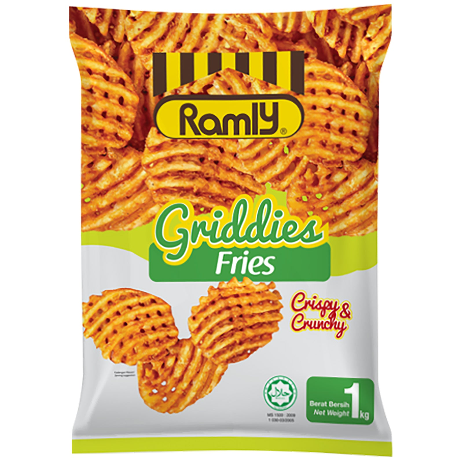 Ramly Griddies Fries