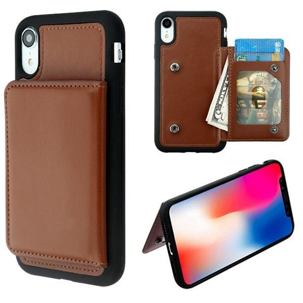 release date 38d45 3f117 Apple iPhone 9 (XR) Hybrid Card Case Cover