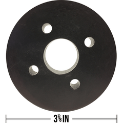 "Water Pump Pulley 3 7/8""  - 03PDRFAN-L"