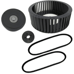 8 CSI Caterpillar Pulley Kit  4.75""
