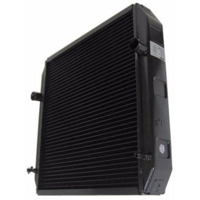 remote radiator for specialty custom vehicle generator