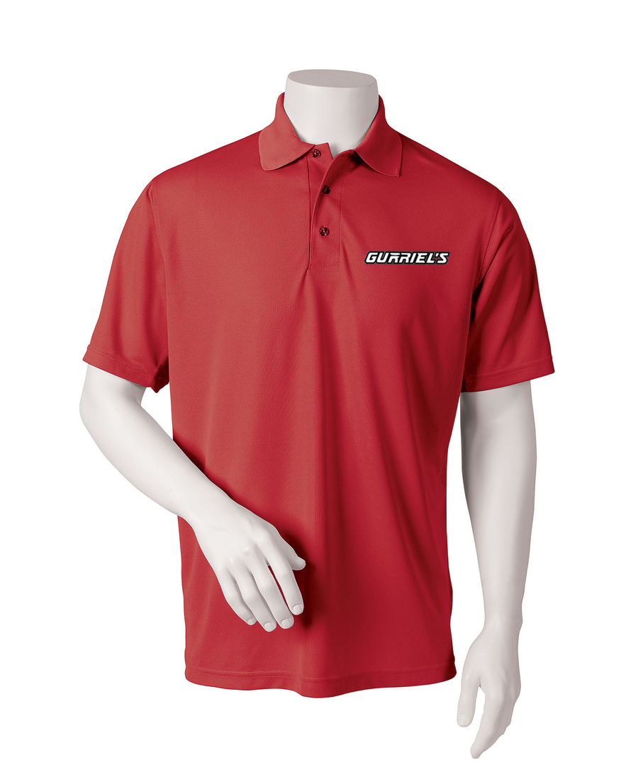 Gurriel Name - Paragon Adult Solid Mesh Polo