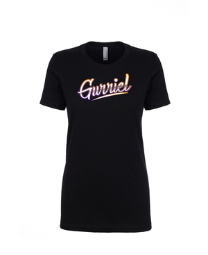 Gurriel Name Bordered - Women's Boyfriend Tee