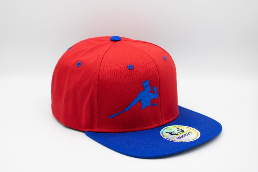 Red and blue Piña Power snapback cap