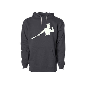 Dark Gray Piña Power Hoodie