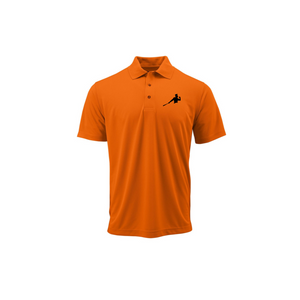 "Orange Adult Polo ""Piña Swing"""