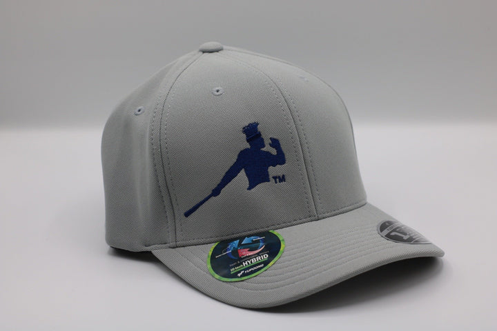 Photo of a Gray Piña Power Yupoong Flexfit Baseball Cap
