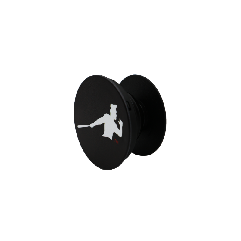 Black and White Piña Power PopSocket
