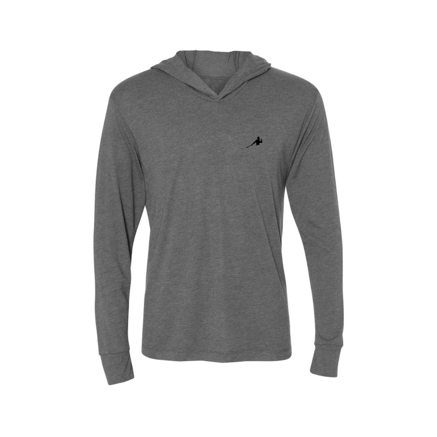 GURRIEL SWING- Unisex Tri-Blend Long Sleeve Hooded Tee