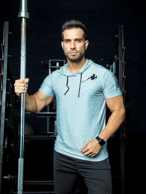 Grey Piña Training Shirt