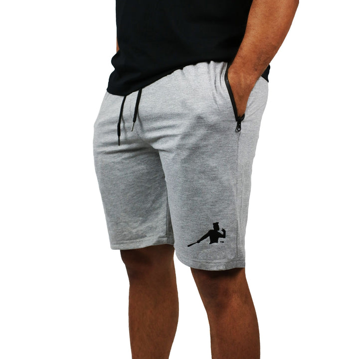 Gray Piña Power Shorts