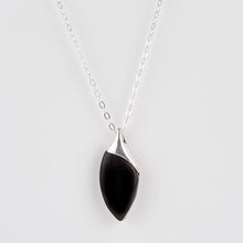 Load image into Gallery viewer, Whitby Jet Sail Pendant