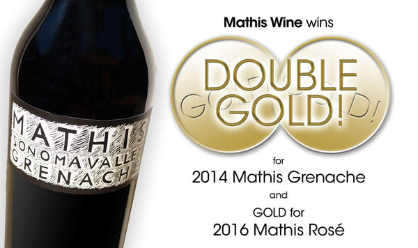 Mathis Grenache wins DOUBLE GOLD MEDAL at SF Int'l Wine Competition