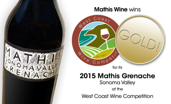 Mathis Grenache image with gold medal
