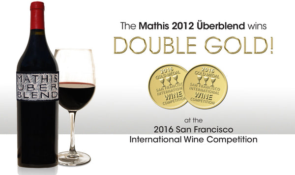 Double Gold Medal won at the San Francisco International Wine Competition for 2012 Uberblend