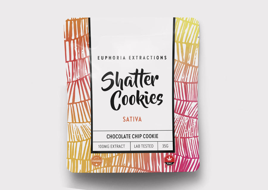 100mg Shatter Cookies - Sativa
