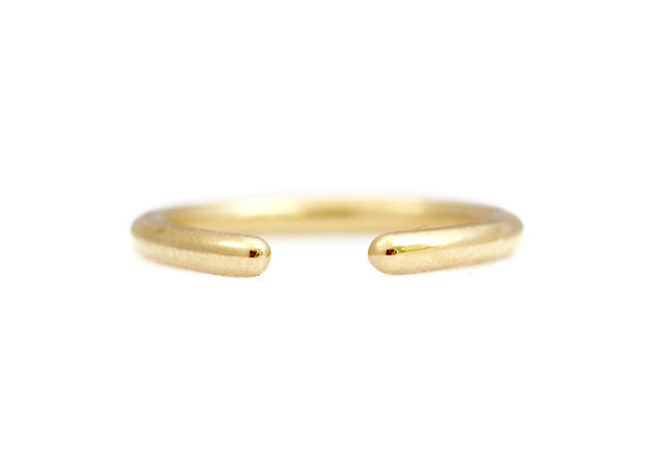 14k Gold Open Ring