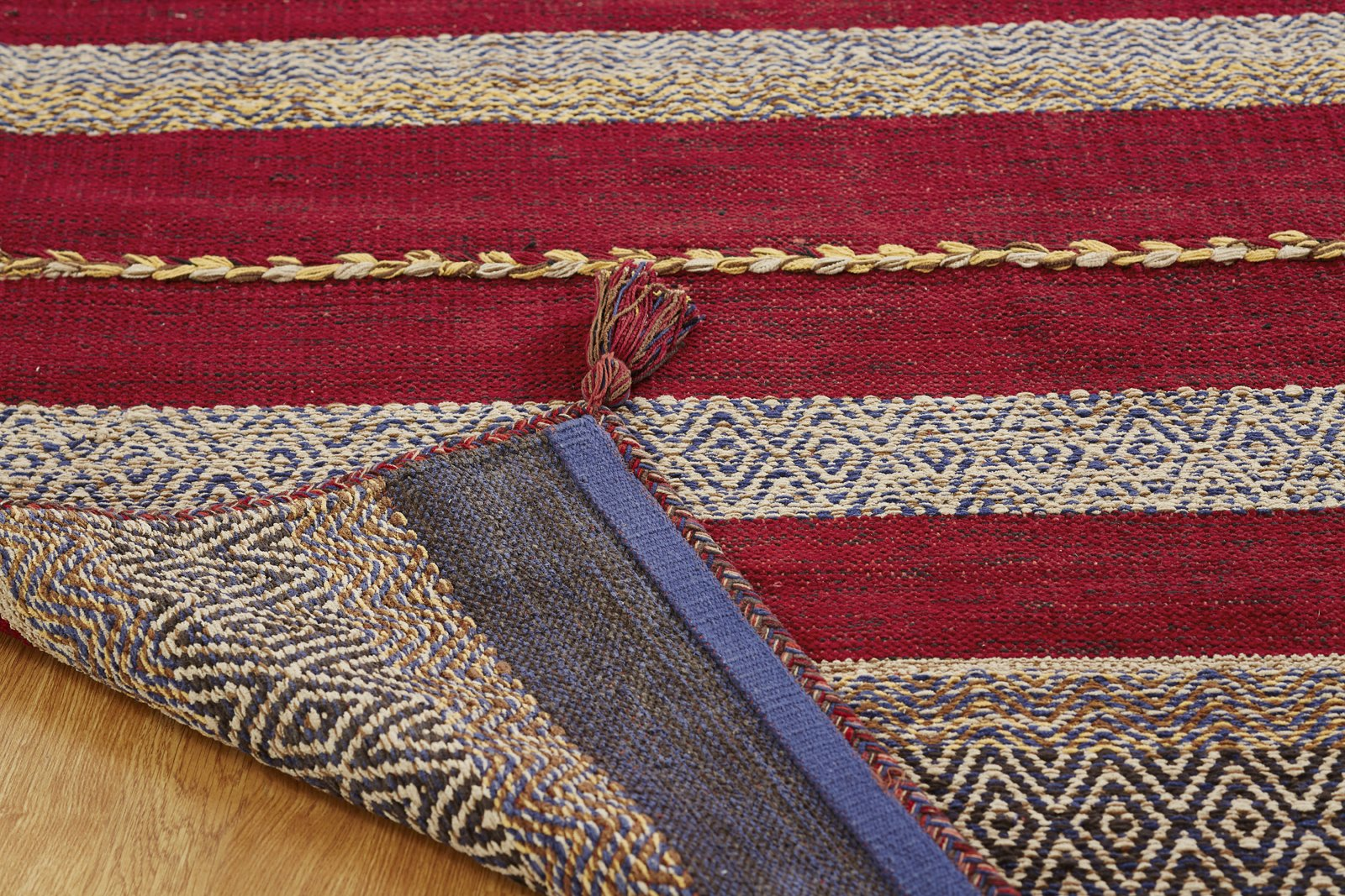 Tundra Ruby Hand-Knotted Area Rug - AllRugs