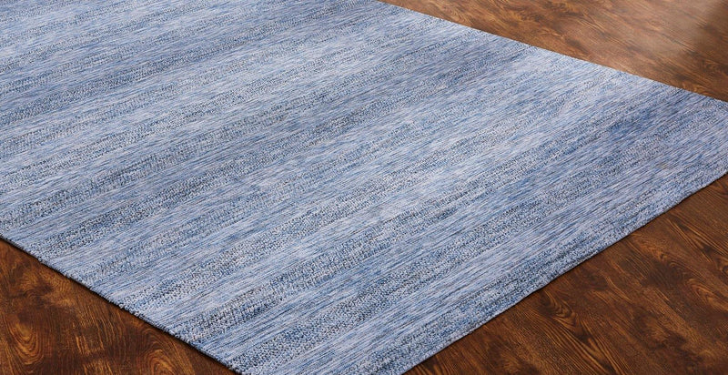 Soirée Blue Tufted Area Rug - AllRugs