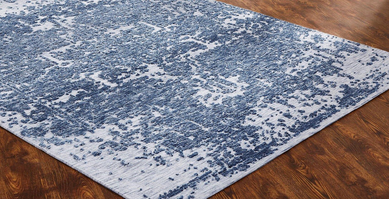 Soirée Blue/Grey Tufted Area Rug