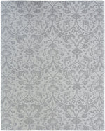 Load image into Gallery viewer, Stellara Hazy Platinum Hand-Knotted Area Rug - AllRugs