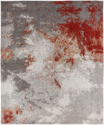 Load image into Gallery viewer, Stellara Zinc/Rust Hand-Knotted Area Rug - AllRugs