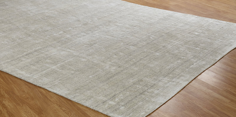 Lazaro Sierra Hand-Knotted Area Rug Cream - AllRugs