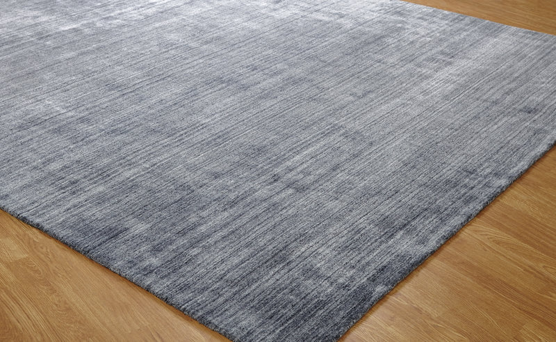 Kaius Sierra Hand-Knotted Area Rug Zinc - AllRugs
