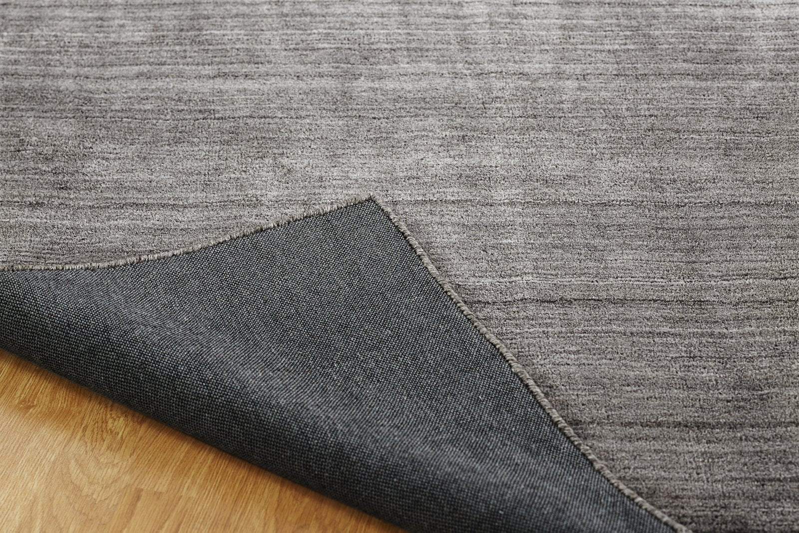 June Sierra Hand-Knotted Area Rug Grey Fog - AllRugs