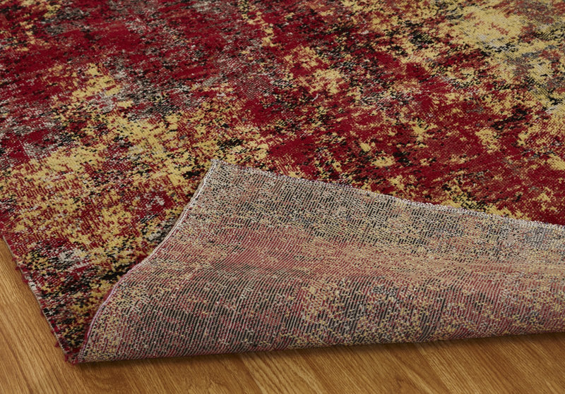 Vortex Painted Desert Indoor/Outdoor Hand-Knotted Area Rug - AllRugs