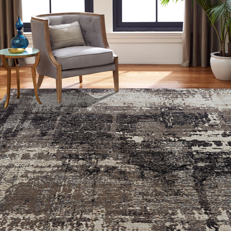 Vortex Granite Grey Indoor/Outdoor Area Rug