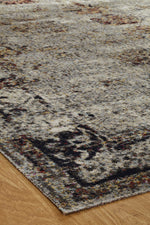 Load image into Gallery viewer, Vortex Vintage Grey Indoor/Outdoor Hand-Knotted Area Rug - AllRugs