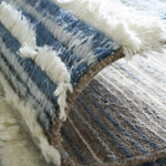 Load image into Gallery viewer, Alura Aqua Semi-Shag Hand-Knotted Area Rug