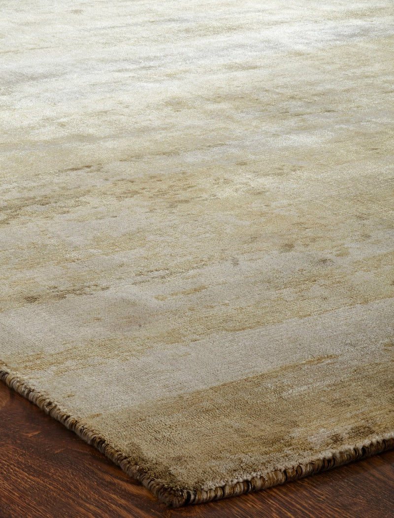 Nocturne Sand Tones Hand-Knotted Area Rug - AllRugs